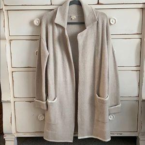 Hem & Thread Long Line Sweater Coat